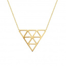 Super Diamond Necklace M Gold