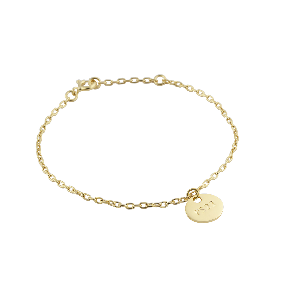 GOLDEN BRONZE COIN BRACELET in the group SHOP / BRACELETS at EMMA ISRAELSSON (brace001b)