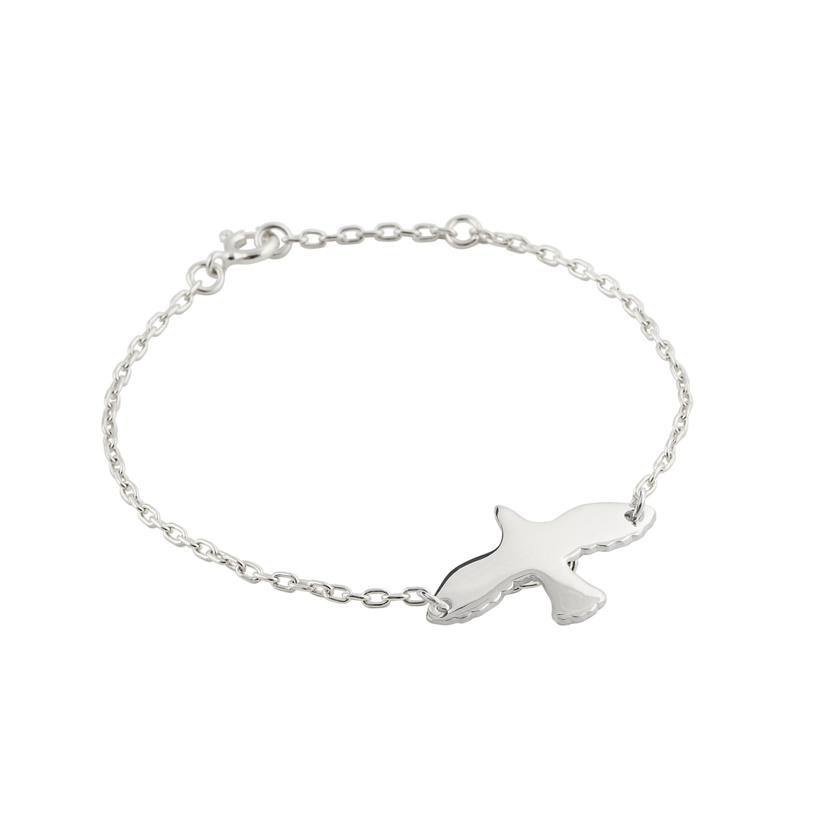 SILVER DOVE BRACELET in the group BRACELETS at EMMA ISRAELSSON (brace003a)