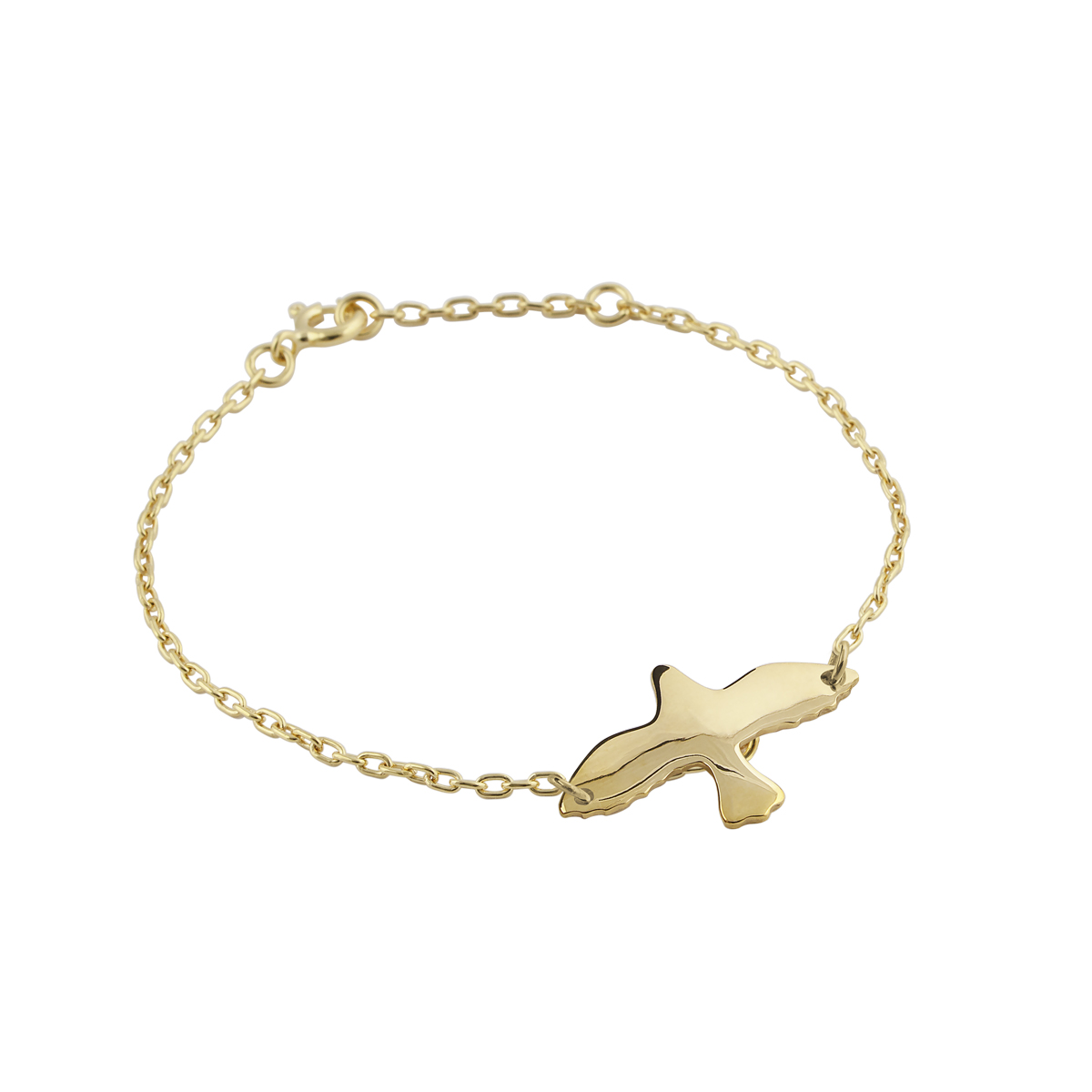 GOLDEN DOVE BRACELET in the group SHOP / BRACELETS at EMMA ISRAELSSON (brace003b)