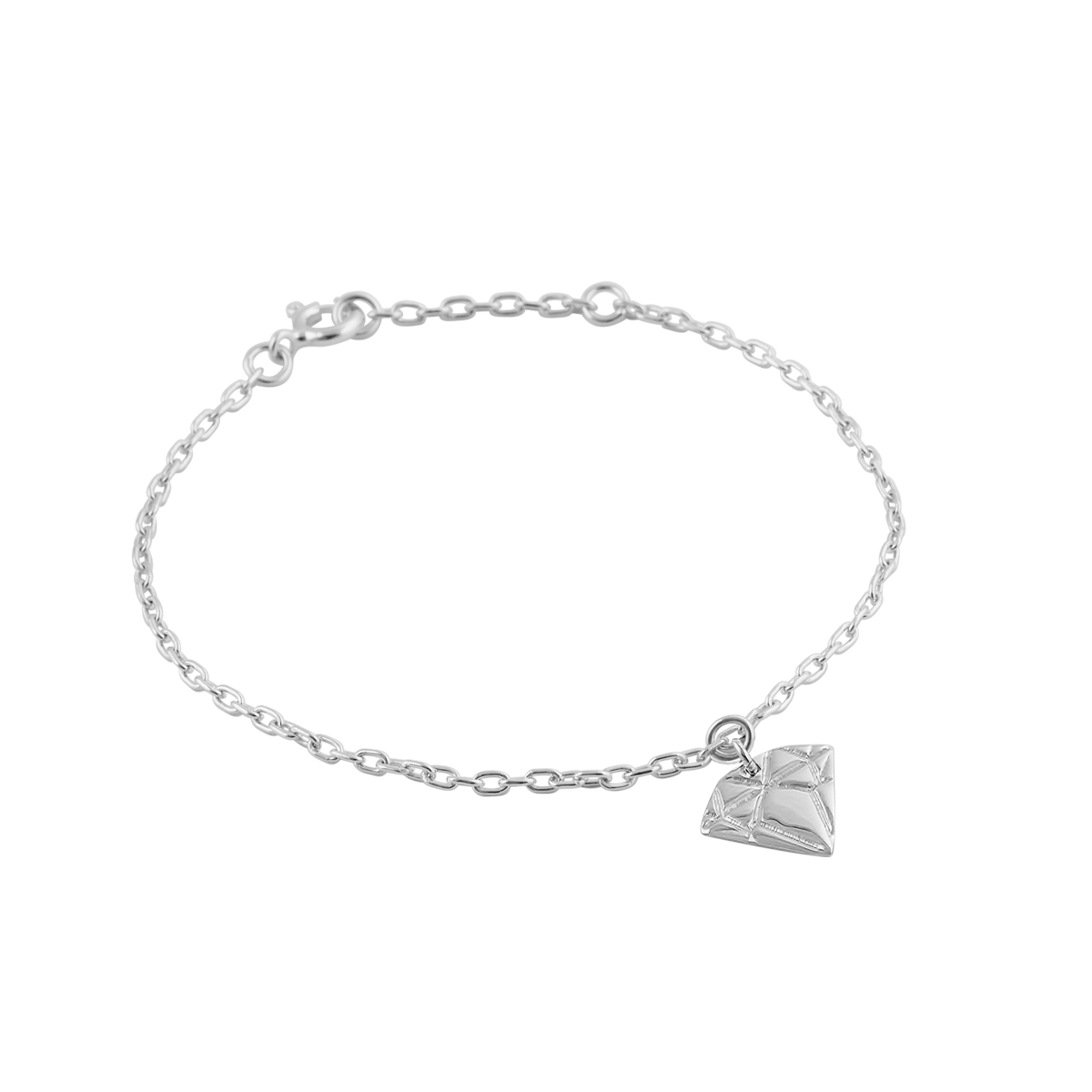 Silver Diamond Bracelet in the group SHOP / BRACELETS at EMMA ISRAELSSON (brace030)