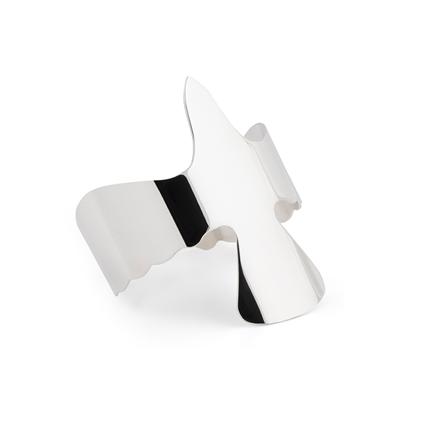 SILVER DOVE CUFF in the group BRACELETS at EMMA ISRAELSSON (brace041)