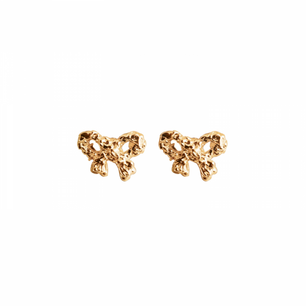 18K Bow Earrings in the group SHOP at EMMA ISRAELSSON (ear035)