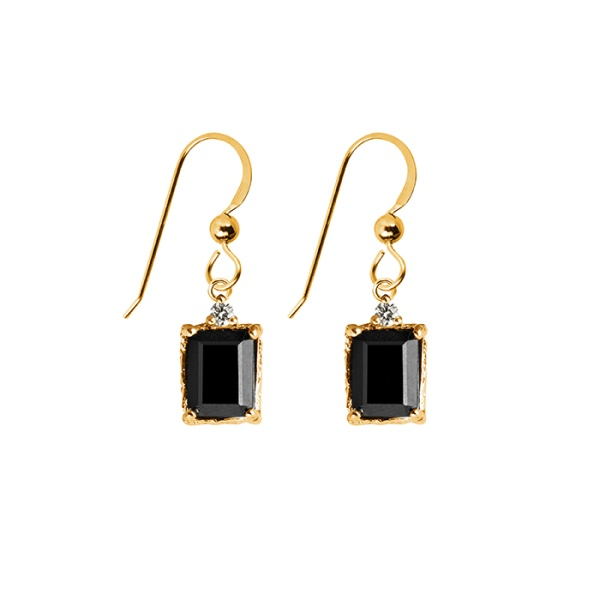 LADY SPINEL EARRINGS BRONZE in the group GIFT IDEAS at EMMA ISRAELSSON (ear041)