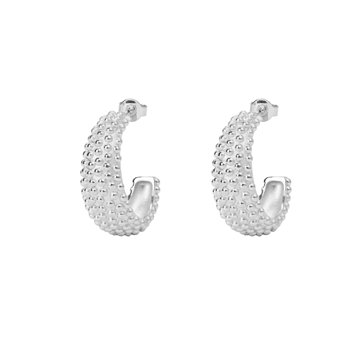 DEW HOOPS SILVER in the group SHOP at EMMA ISRAELSSON (ear100)