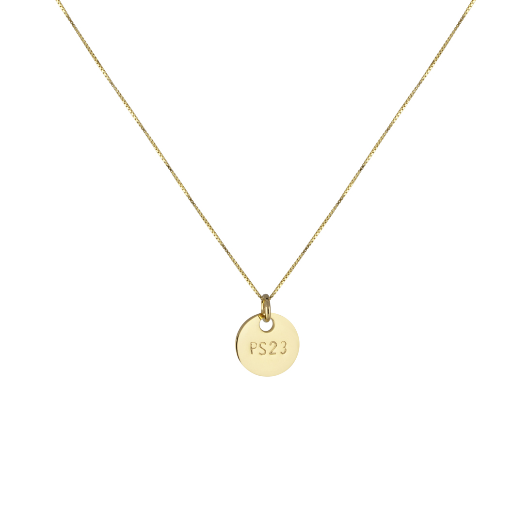 PS23 NECKLACE S GOLD  in the group SHOP / NECKLACES at EMMA ISRAELSSON (neck010)