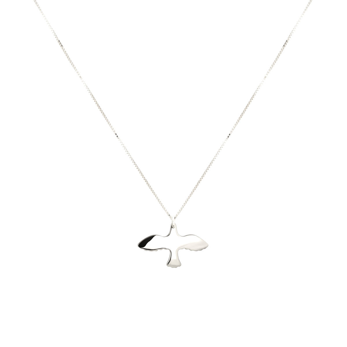 SILVER SMALL DOVE NECKLACE in the group NECKLACES at EMMA ISRAELSSON (neck030)