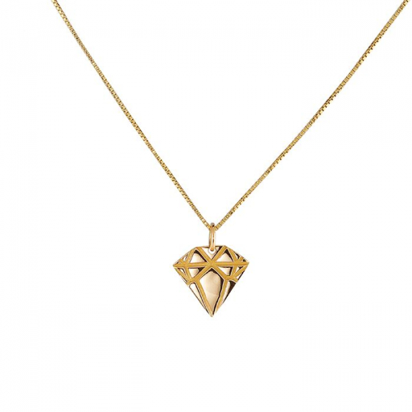 18K Gold Diamond Necklace in the group SHOP / FINE JEWELRY at EMMA ISRAELSSON (neck042-40)
