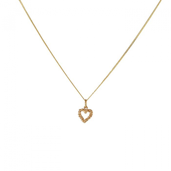 18K Heart Pendant in the group SHOP / NECKLACES at EMMA ISRAELSSON (neck048)