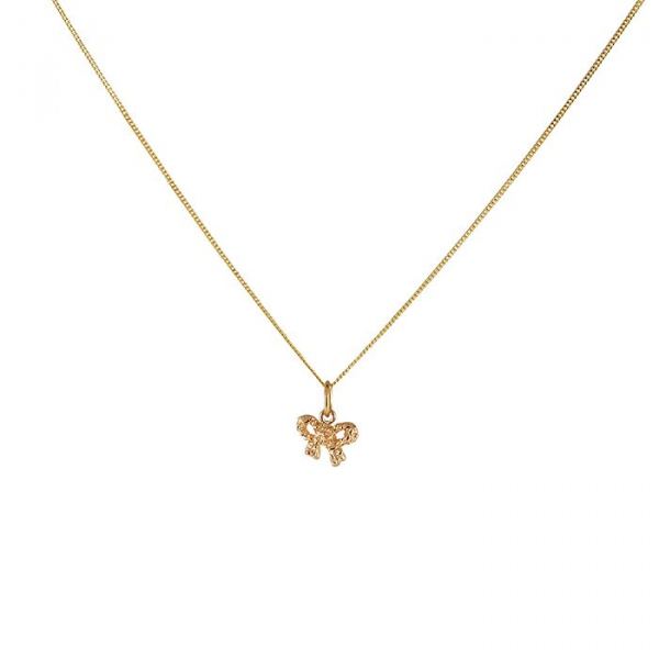 18K BOW NECKLACE in the group SHOP at EMMA ISRAELSSON (neck049-1)