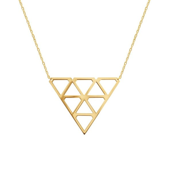 Super Diamond Necklace M Gold in the group SHOP / SALE at EMMA ISRAELSSON (neck073)