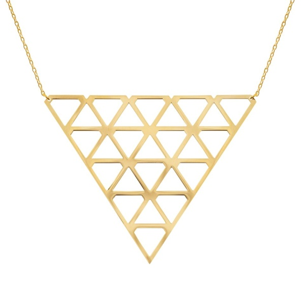 Super Diamond Necklace L Gold in the group SHOP at EMMA ISRAELSSON (neck075)