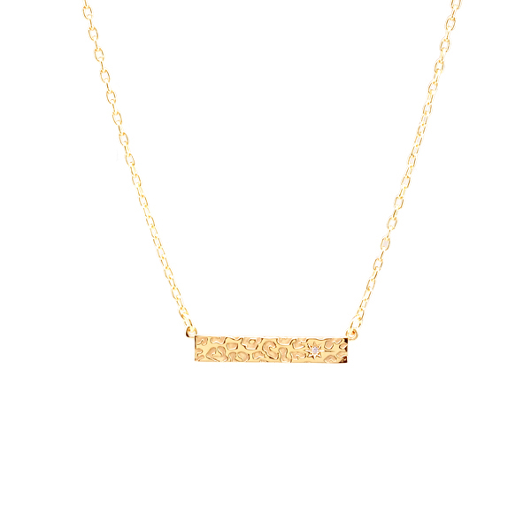 LEO NECKLACE GOLD in the group SHOP at EMMA ISRAELSSON (neck106)