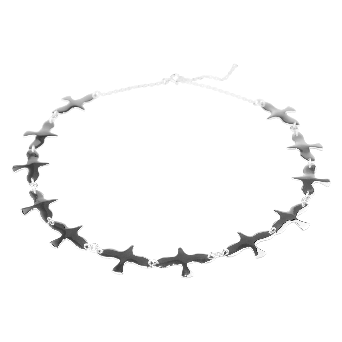 DOVES NECKLACE SILVER in the group SHOP / Collections / DOVE at EMMA ISRAELSSON (neck107)