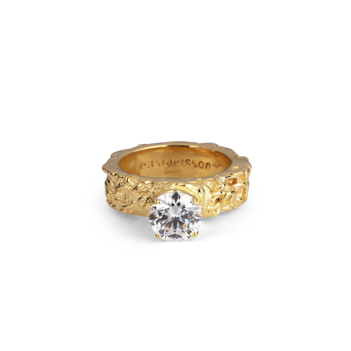 PRINCESS GOLD RING in the group RINGS at EMMA ISRAELSSON (ring004)