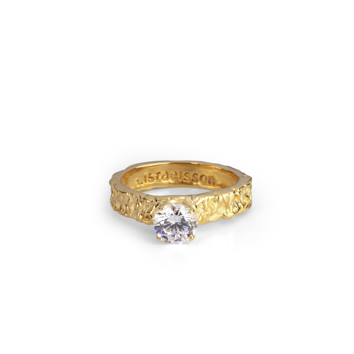 SMALL PRINCESS GOLD RING in the group RINGS at EMMA ISRAELSSON (ring005)