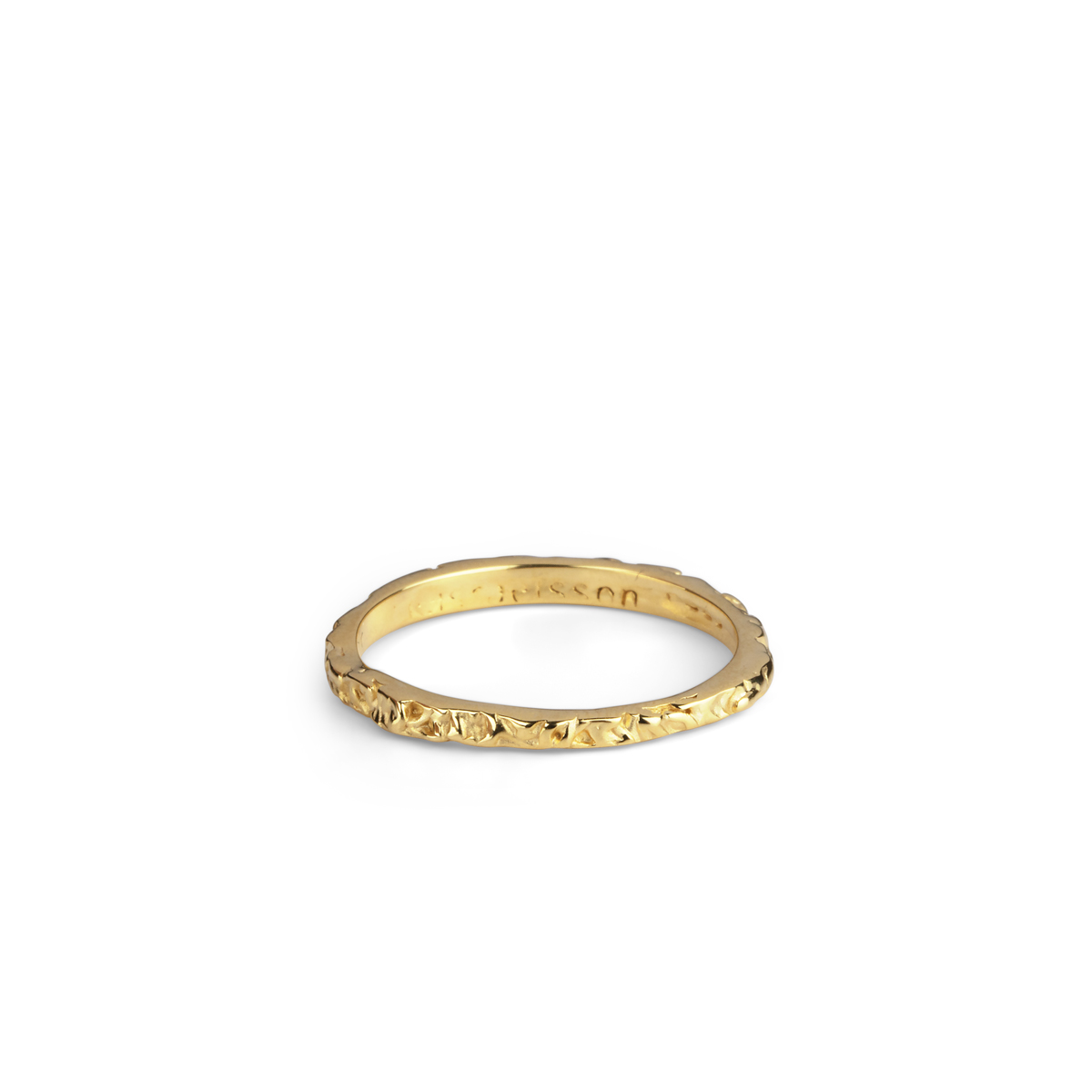 THIN BAND GOLD RING in the group RINGS at EMMA ISRAELSSON (ring006)