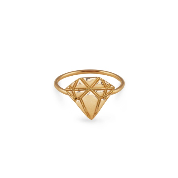 18K GOLD DIAMOND RING in the group SHOP at EMMA ISRAELSSON (ring013)