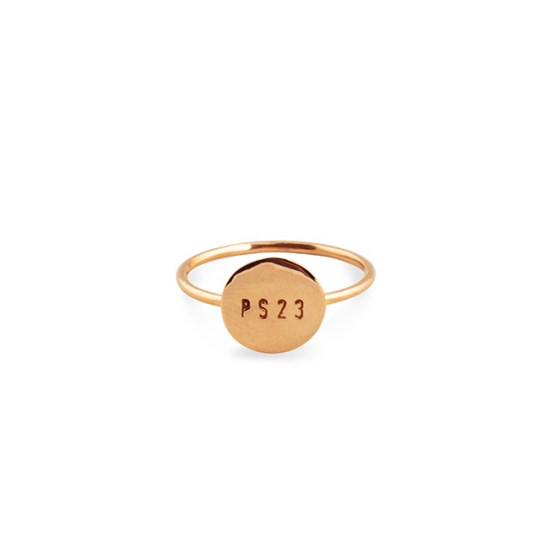18K Gold Coin Ring in the group SHOP at EMMA ISRAELSSON (ring015)