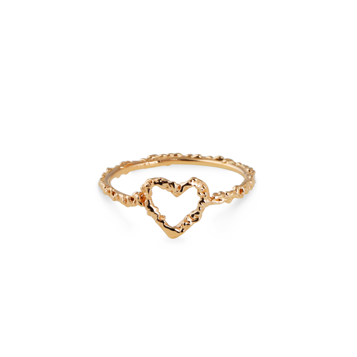 18K HEART RING in the group SHOP at EMMA ISRAELSSON (ring026)