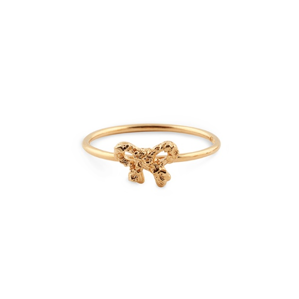 18K Bow Ring in the group SHOP at EMMA ISRAELSSON (ring027)