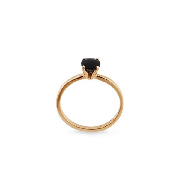 18K BLK SPINEL RING in the group SHOP at EMMA ISRAELSSON (ring043)