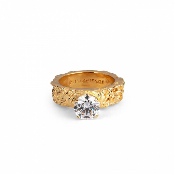 18K PRINCESS RING in the group SHOP at EMMA ISRAELSSON (ring046)