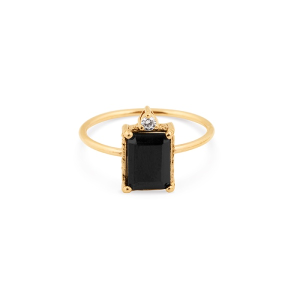 LADY SPINEL RING BRONZE in the group SHOP / SALE at EMMA ISRAELSSON (ring054)