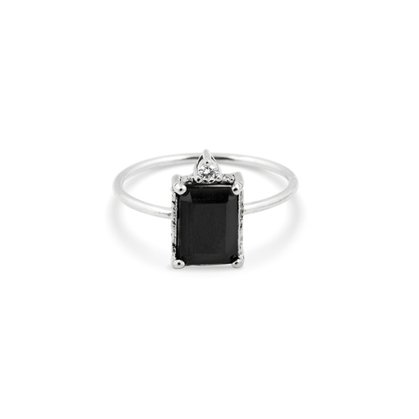 LADY SPINEL RING SILVER in the group OUTLET at EMMA ISRAELSSON (ring055)