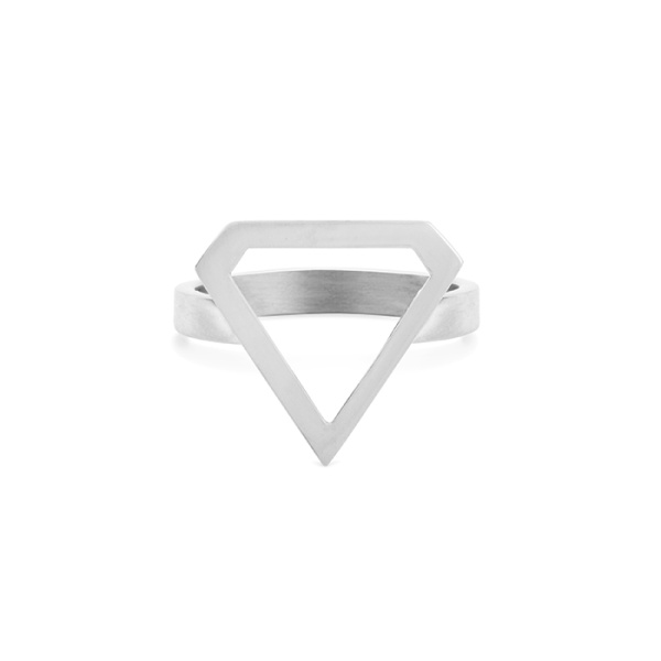 Super Diamond Ring Silver in the group SHOP at EMMA ISRAELSSON (ring061)
