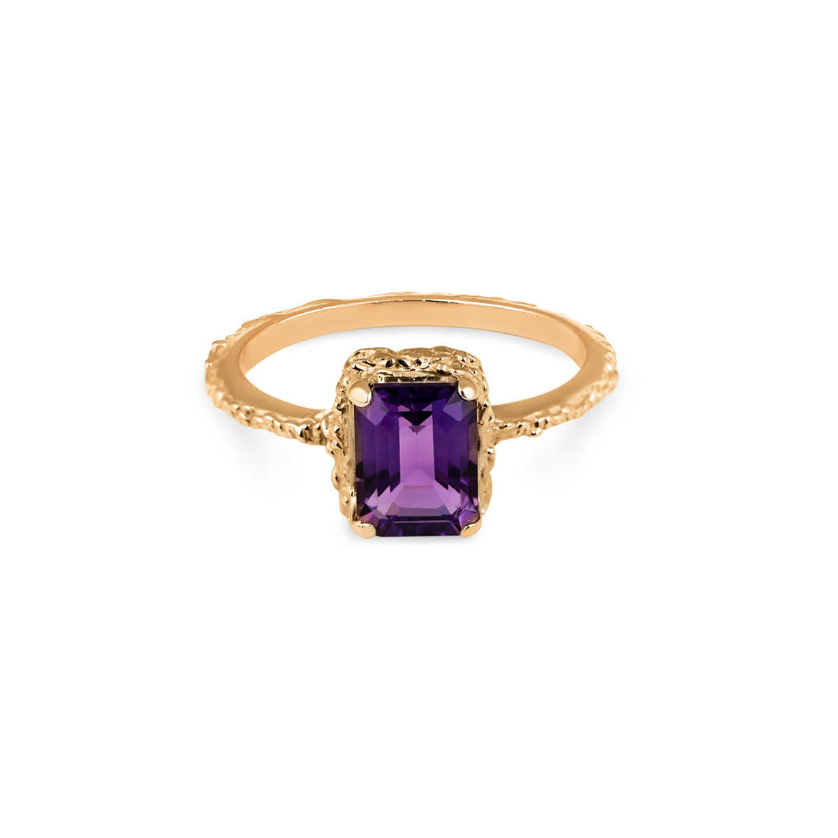 18K Queen Amethyst Ring in the group SHOP / RINGS at EMMA ISRAELSSON (ring070)