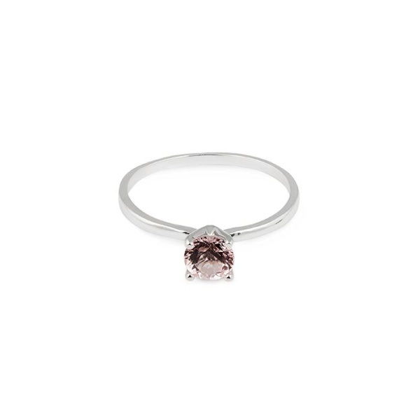 WHITE GOLD MORGANITE RING in the group SHOP at EMMA ISRAELSSON (ring074)