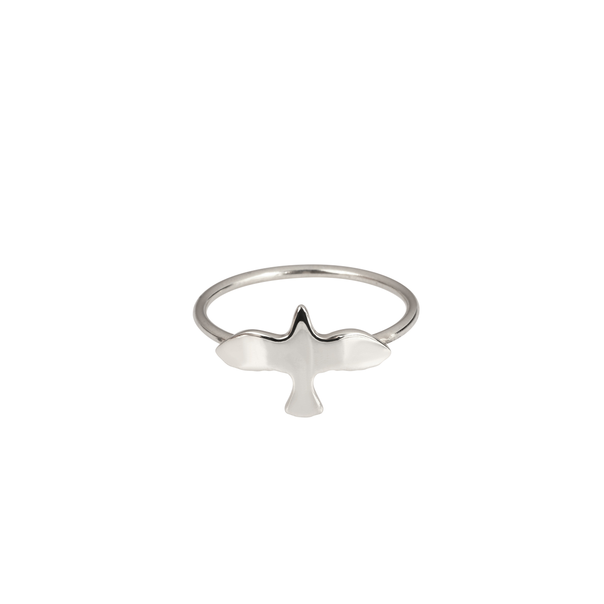 SILVER DOVE RING in the group RINGS at EMMA ISRAELSSON (ring080)