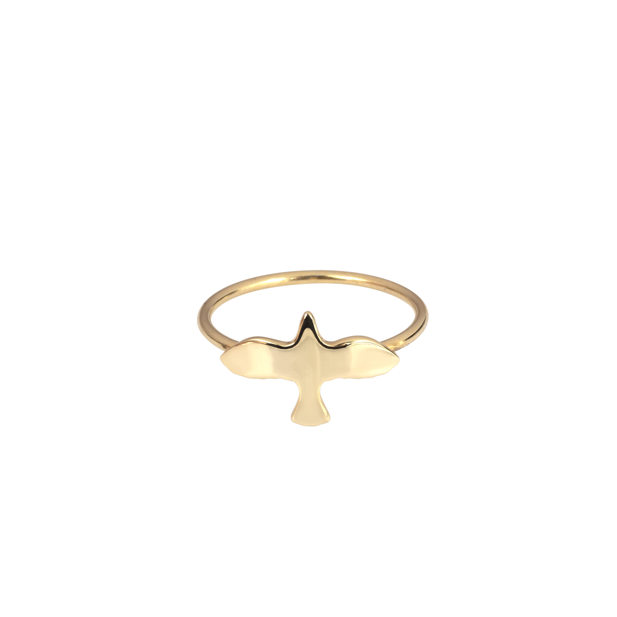 Golden Dove Ring in the group RINGS at EMMA ISRAELSSON (ring081)