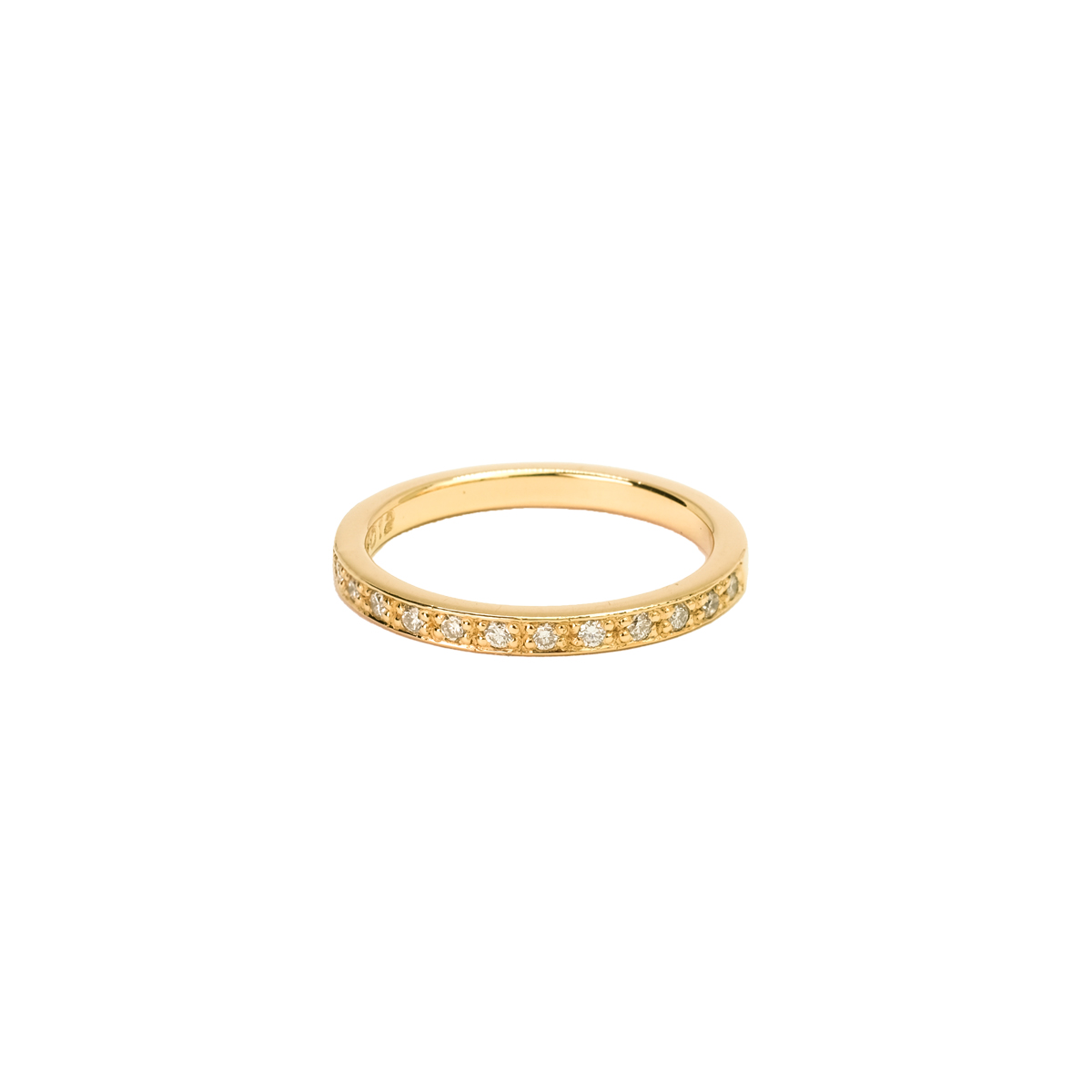 18K DIAMOND BAND RING in the group RINGS at EMMA ISRAELSSON (ring086)