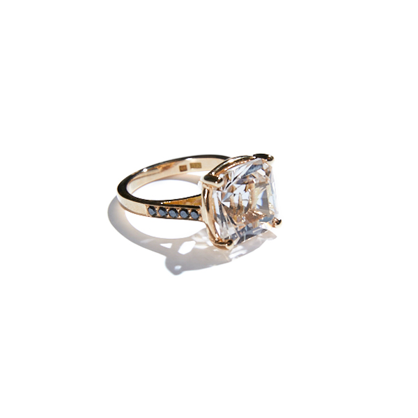 18K RADIANT TOPAZ RING in the group SHOP / RINGS at EMMA ISRAELSSON (ring095)
