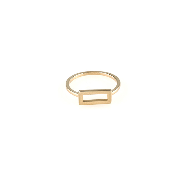 FENESTRA THIN RING GOLD in the group SHOP at EMMA ISRAELSSON (ring100)