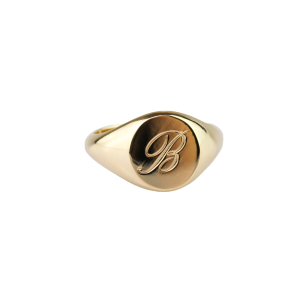 LOVE LETTER GOLD in the group SHOP / Collections / LETTER at EMMA ISRAELSSON (ring105)