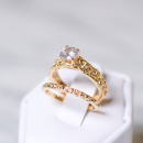 18K SMALL PRINCESS RING