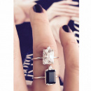 LADY SPINEL RING SILVER